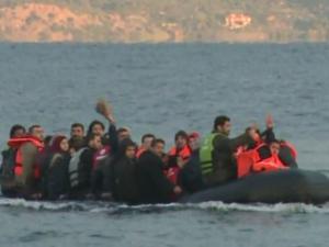 Flüchtlings-Helfer auf Lesbos